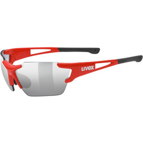UVEX Sportstyle 803 Race Vario Glasses Small, red/silver